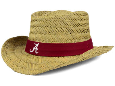Alabama Crimson Tide '47 NCAA Natural Bogie Straw Hat
