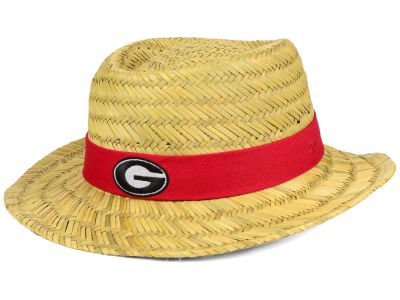 Georgia Bulldogs '47 NCAA Natural Bogie Straw Hat