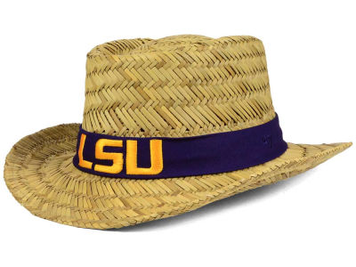 LSU Tigers '47 NCAA Natural Bogie Straw Hat