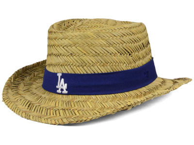 Los Angeles Dodgers '47 MLB Natural Bogie Straw Hat