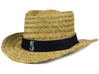 Seattle Mariners '47 MLB Natural Bogie Straw Hat