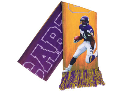 Minnesota Vikings Cris Carter Forever Collectibles Sublimated Player Scarf