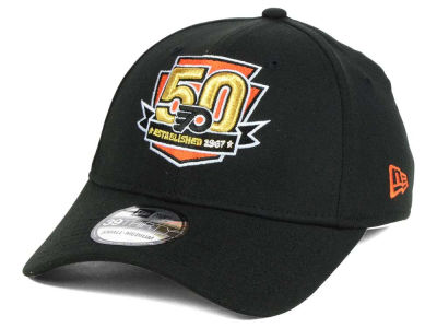 Philadelphia Flyers New Era NHL 50th Anniversary 39THIRTY Cap