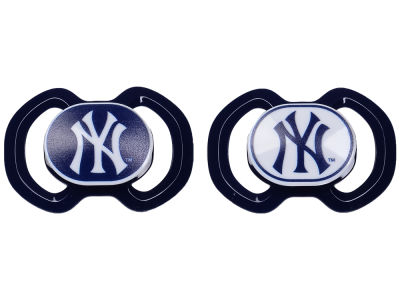 New York Yankees AC DC 2-pack Pacifier Set