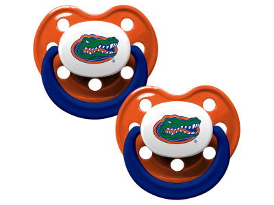 Florida Gators AC DC 2-pack Pacifier Set