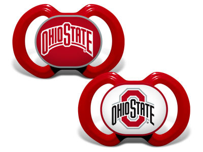 Ohio State Buckeyes 2-pack Pacifier Set