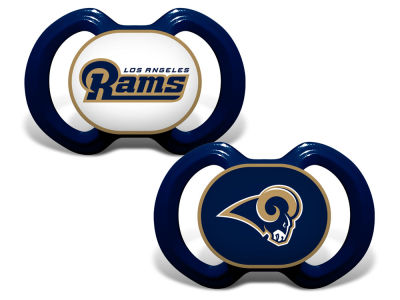 Los Angeles Rams AC DC 2-pack Pacifier Set