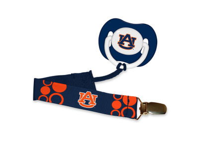 Auburn Tigers Baby Fanatic Pacifier With Clip