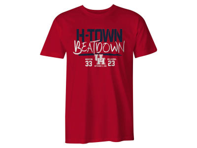 Houston Cougars NCAA Men's H-Town Beatdown T-Shirt