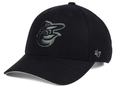Baltimore Orioles '47 MLB '47 MVP Black and Charcoal Cap