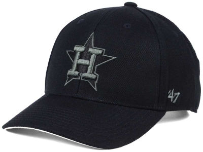Houston Astros '47 MLB '47 MVP Black and Charcoal Cap