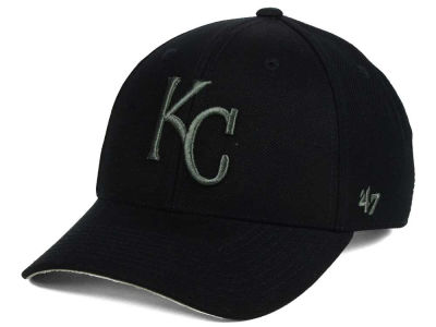 Kansas City Royals '47 MLB '47 MVP Black and Charcoal Cap
