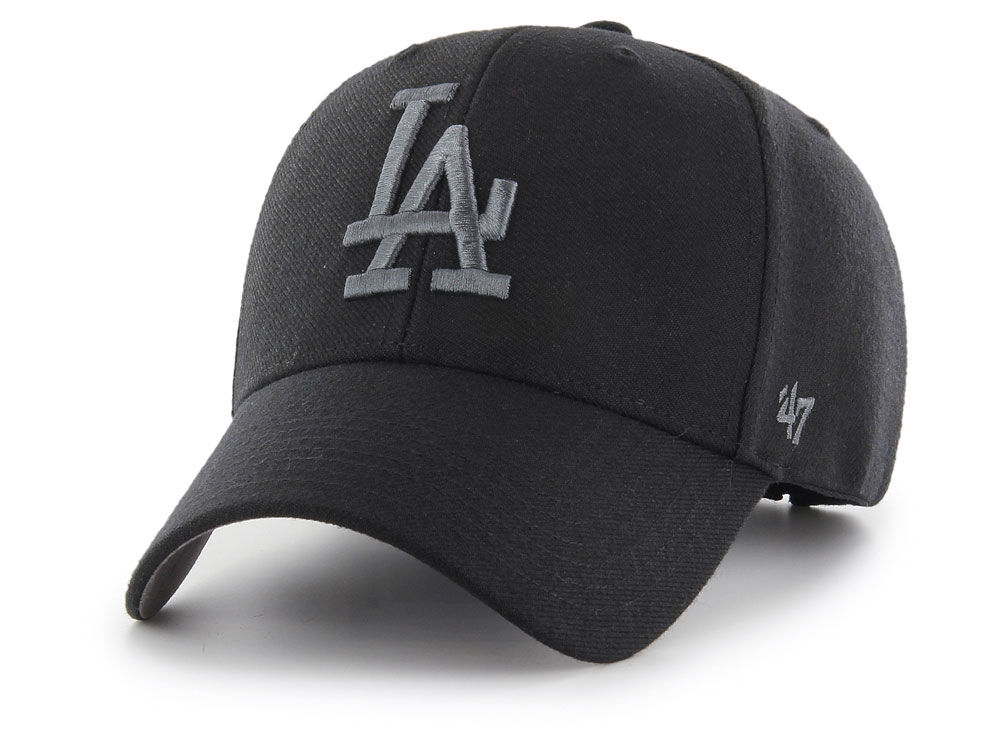 8a2a787265c Los Angeles Dodgers  47 MLB Black Series MVP Cap
