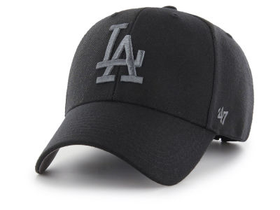 Los Angeles Dodgers '47 MLB '47 MVP Black and Charcoal Cap