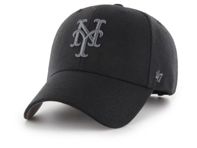 New York Mets '47 MLB '47 MVP Black and Charcoal Cap