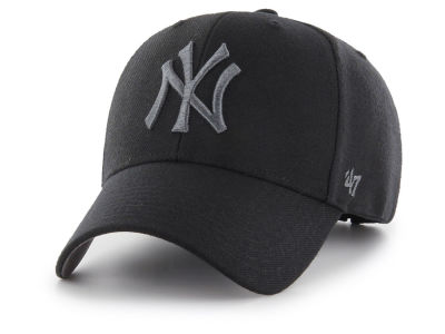 New York Yankees '47 MLB '47 MVP Black and Charcoal Cap