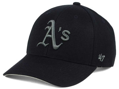 Oakland Athletics '47 MLB '47 MVP Black and Charcoal Cap