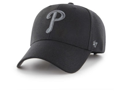 Philadelphia Phillies '47 MLB '47 MVP Black and Charcoal Cap