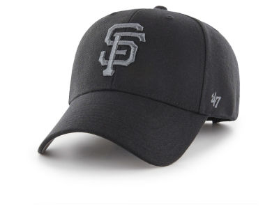 San Francisco Giants '47 MLB '47 MVP Black and Charcoal Cap