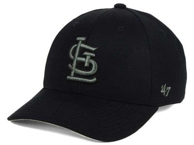 St. Louis Cardinals '47 MLB '47 MVP Black and Charcoal Cap
