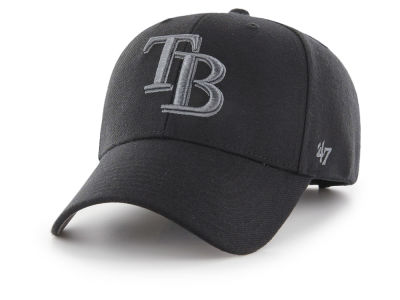 Tampa Bay Rays '47 MLB '47 MVP Black and Charcoal Cap