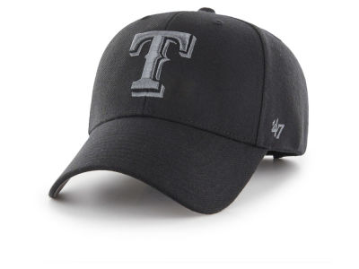 Texas Rangers '47 MLB '47 MVP Black and Charcoal Cap