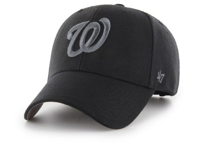 Washington Nationals '47 MLB '47 MVP Black and Charcoal Cap