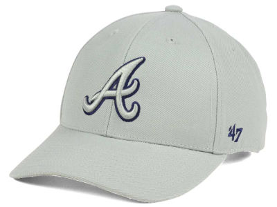 Atlanta Braves '47 MLB '47 MVP Gray TC Pop Cap