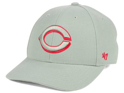 Cincinnati Reds '47 MLB Gray TC Pop '47 MVP Cap