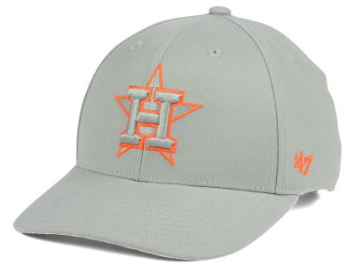 Houston Astros '47 MLB Gray TC Pop '47 MVP Cap