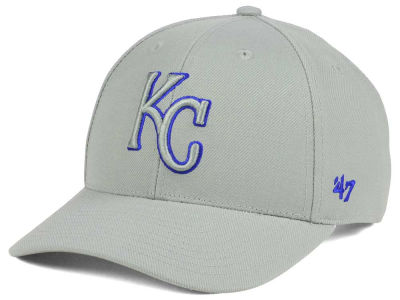 Kansas City Royals '47 MLB Gray TC Pop '47 MVP Cap
