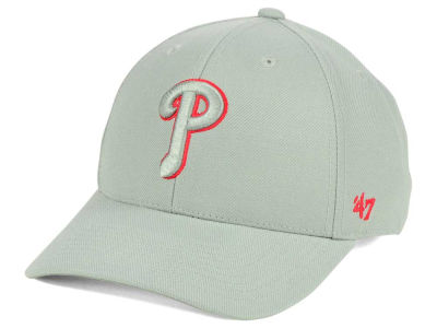 Philadelphia Phillies '47 MLB Gray TC Pop '47 MVP Cap
