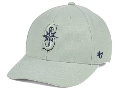 Seattle Mariners '47 MLB Gray TC Pop '47 MVP Cap