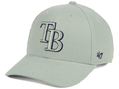 Tampa Bay Rays '47 MLB Gray TC Pop '47 MVP Cap