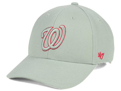 Washington Nationals '47 MLB Gray TC Pop '47 MVP Cap
