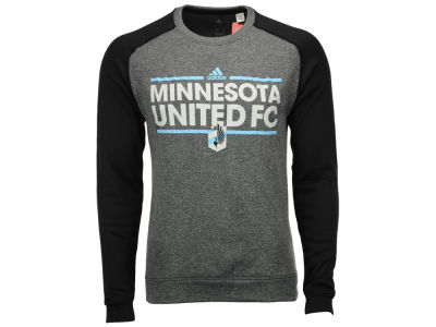 Minnesota United FC adidas MLS Men's Dassler Local Crew Sweatshirt