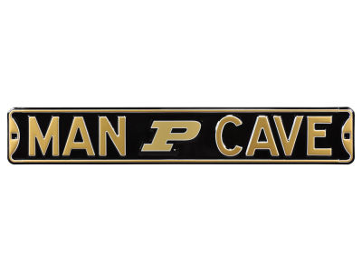 Purdue Boilermakers Street Fighter Authentic Street Sign Man Cave