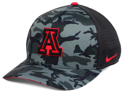 Arizona Wildcats Nike NCAA Camo Hook Swooshflex Cap
