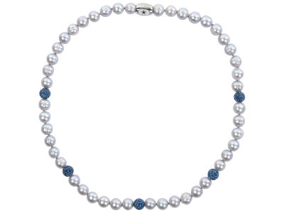 Dallas Cowboys Honora Necklace with Sparkle Beads