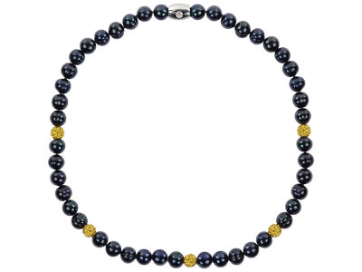 Pittsburgh Steelers Honora Necklace with Sparkle Beads