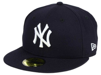 New York Yankees New Era MLB Gray Bottom Collection 59FIFTY Cap