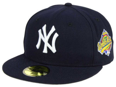 New York Yankees New Era MLB World Series Gray Bottom Collection 59FIFTY Cap