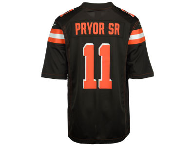 Cleveland Browns Terrelle Pryor Nike NFL Men's Game Jersey
