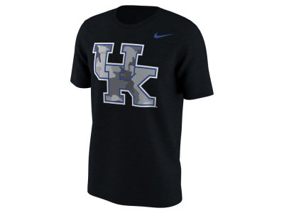 Kentucky Wildcats Nike NCAA Men's Project Fresh Camo Logo T-Shirt
