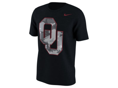 Oklahoma Sooners Nike NCAA Men's Project Fresh Camo Logo T-Shirt