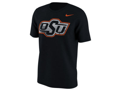 Oklahoma State Cowboys Nike NCAA Men's Project Fresh Camo Logo T-Shirt