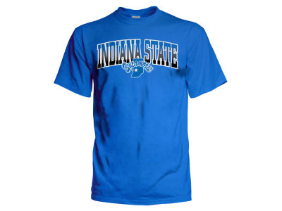 Indiana State Sycamores NCAA 2 for $28 NCAA Men's Gradient Arch T-Shirt
