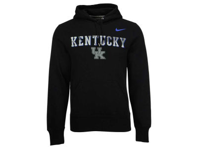 Kentucky Wildcats Nike NCAA Men's Project Fresh Camo Logo Hoodie