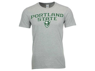 Portland State Vikings NCAA Men's Gradient Arch T-Shirt