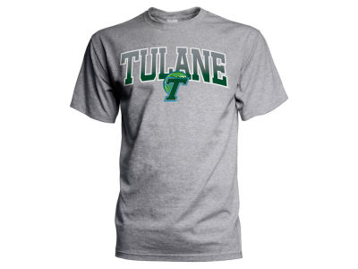 Tulane Green Wave J America NCAA Men's Gradient Arch T-Shirt